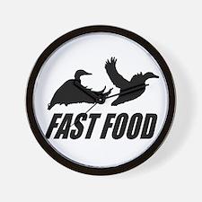 Fast food waterfowl Wall Clock