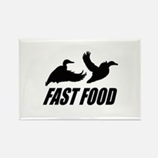 Fast food waterfowl Rectangle Magnet