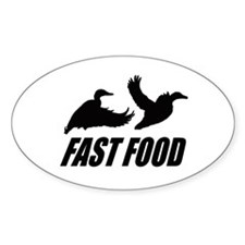 Fast food waterfowl Decal