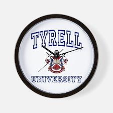 TYRELL University Wall Clock