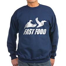 Fast food waterfowl w Sweatshirt