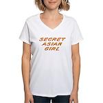 Secret Asian Girl Women's V-Neck T-Shirt