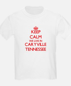 Keep calm we live in Caryville Tennessee T-Shirt