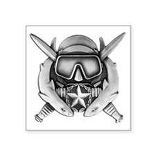 "Funny Special operations Square Sticker 3"" x 3"""