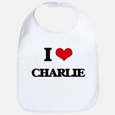 I Love Charlie Bib