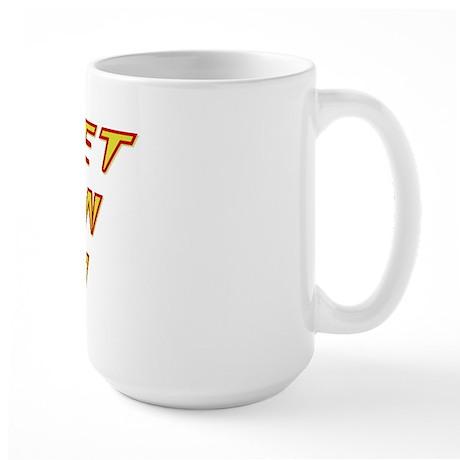 Secret Asian Man Large Mug