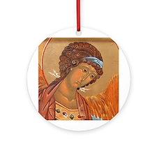 Archangel Michael Ornament (Round)