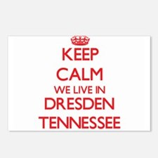 Keep calm we live in Dres Postcards (Package of 8)