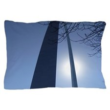 Hazy Gateway Arch Pillow Case