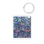 Butterfly Leaves Aluminum Photo Keychain