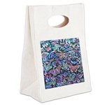 Butterfly Leaves Canvas Lunch Tote