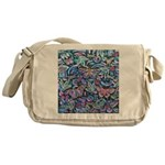 Butterfly Leaves Messenger Bag