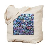 Butterfly Leaves Tote Bag