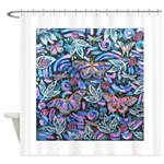 Butterfly Leaves Shower Curtain