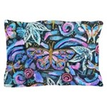 Butterfly Leaves Pillow Case