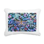 Butterfly Leaves Rectangular Canvas Pillow