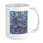 Butterfly Leaves Large Mug