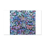 Butterfly Leaves Mini Poster Print