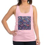 Butterfly Leaves Racerback Tank Top