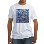 Butterfly Leaves Fitted T-Shirt