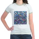 Butterfly Leaves Jr. Ringer T-Shirt