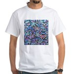Butterfly Leaves White T-Shirt