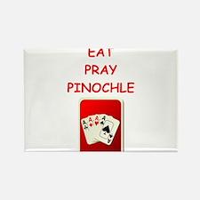 pinochle joke Magnets