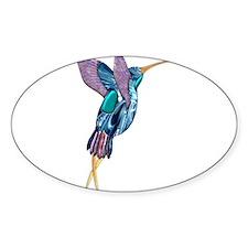 Iridescent Scissortail Hummingbird Decal