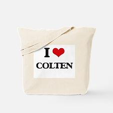 I Love Colten Tote Bag