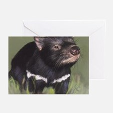 Tazzie Devil Greeting Cards (Pk of 10)