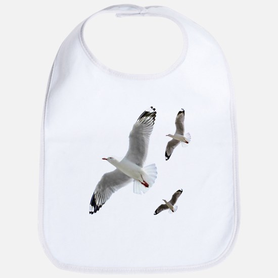 3 Gulls in Flight copy Bib