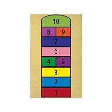 Children's Hopscotch Design Area Rug
