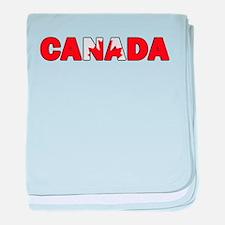 Canada 001 baby blanket