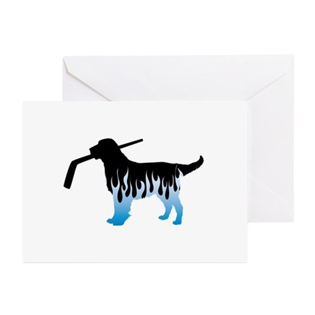 Custom Flat Coated Greeting Cards (Pk of 10)