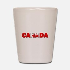 Canada 001 Shot Glass