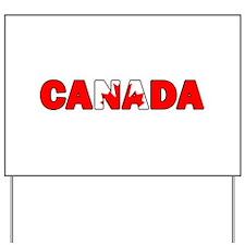 Canada 001 Yard Sign