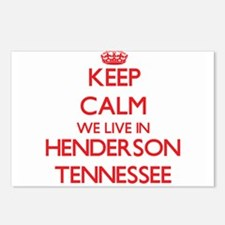 Keep calm we live in Hend Postcards (Package of 8)