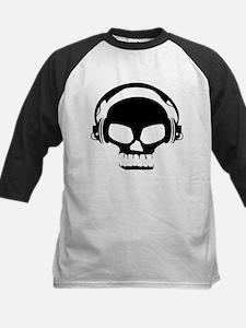 Dj Dubstep Skull Headphones Dead M Baseball Jersey