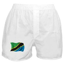 Wavy Tanzania Flag Boxer Shorts