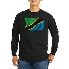 Wavy Tanzania Flag T