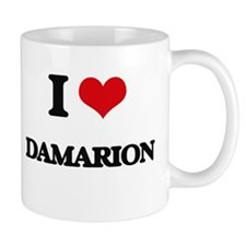 I Love Damarion Mugs