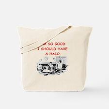 water polo joke Tote Bag
