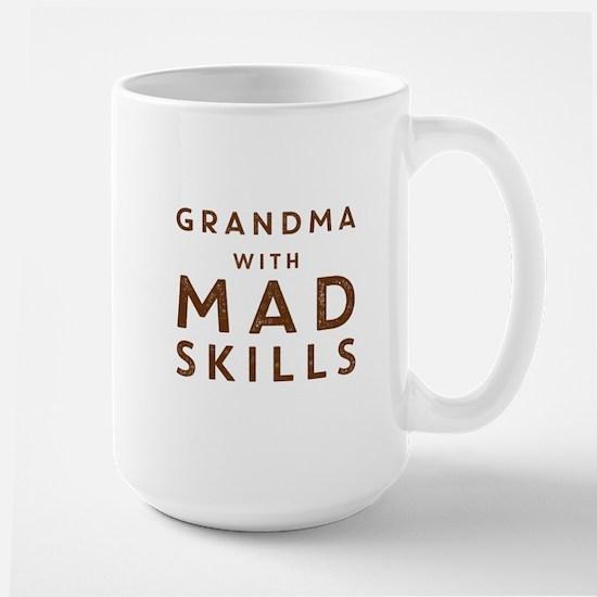 Grandma with Mad Skills Mugs