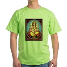 Ganesh / Ganesha Indian Elephant Hindu Dei T-Shirt
