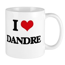 I Love Dandre Mugs