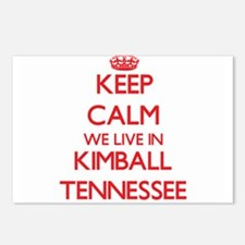 Keep calm we live in Kimb Postcards (Package of 8)