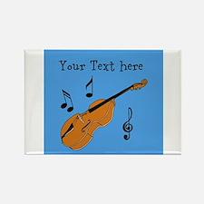 Customizable Violin Design Magnets