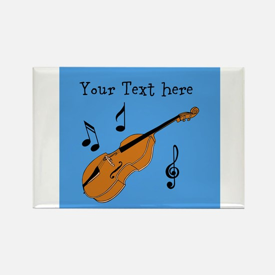 Customizable Violin Design Magnets