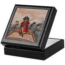 Cat Pirate Keepsake Box