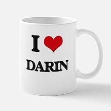 I Love Darin Mugs